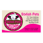 Dog Grooming Business Card With Scottie Dogs Business Card Templates