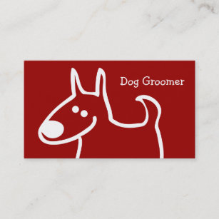 Dog grooming business cards zazzle uk dog grooming business cards colourmoves