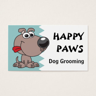 Dog Grooming, Clipping or Walking Business Card