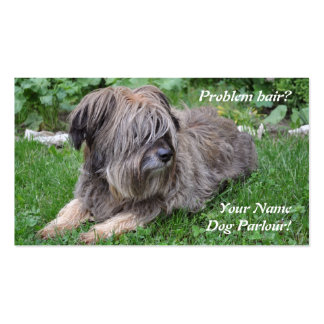 Dog grooming pet care pack of standard business cards