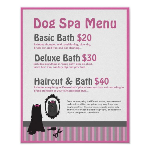 Dog Grooming Posters Uk