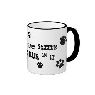 dog hair mug!