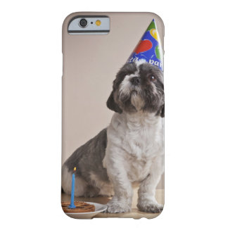 Dog having birthday barely there iPhone 6 case