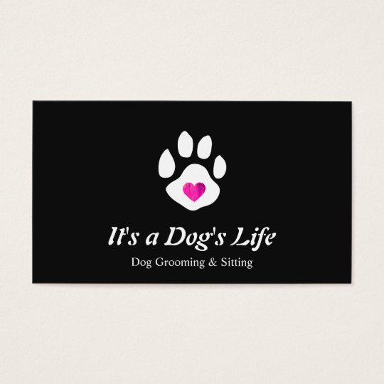 Dog Heart Paw Pet Sitting and Grooming Business