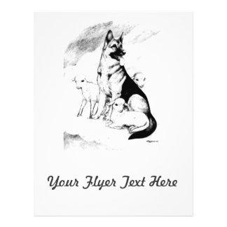 Dog Heaven 21.5 Cm X 28 Cm Flyer