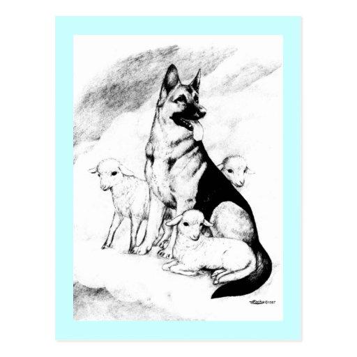 Dog Heaven Post Card