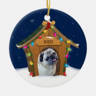 Dog House Christmas Christmas Ornament