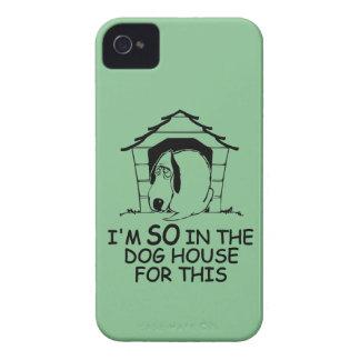 DOG HOUSE custom color Blackberry case