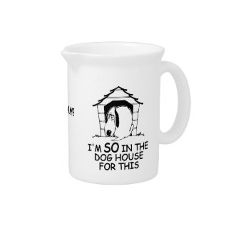 DOG HOUSE custom pitcher