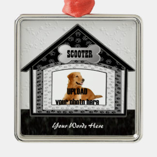 Dog House Pet Memorial Christmas Ornament