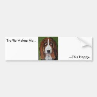 Dog Humor Bumper sticker