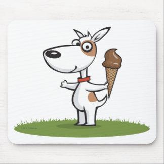 Dog Ice Cream Mousepads