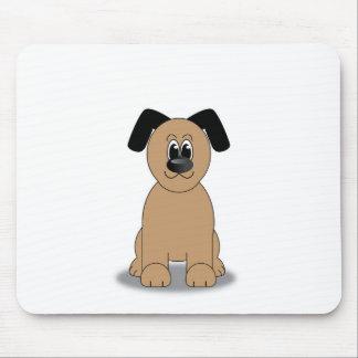 Dog illustration mousemat