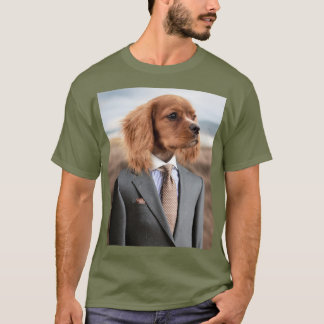 Dog in a Suit T-Shirt