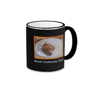 Dog in Cone Halloween Mug