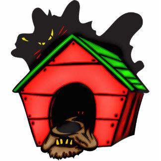 Dog In Dog House Cut Outs