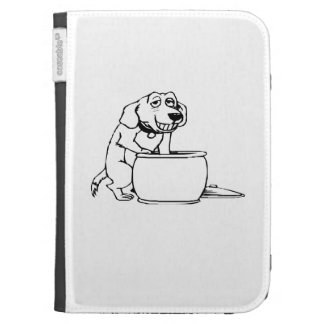 Dog in Snack Jar Kindle 3 Cover