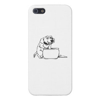 Dog in Snack Jar iPhone 5 Cover