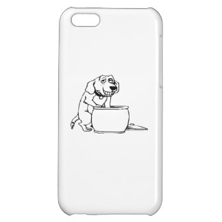 Dog in Snack Jar iPhone 5C Covers
