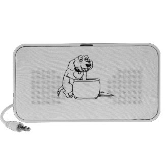 Dog in Snack Jar Travelling Speaker