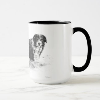 Dog in Water - Mug