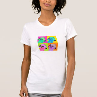 Dog, Jack Russels Terrier, Welpe. Popart Design T-Shirt