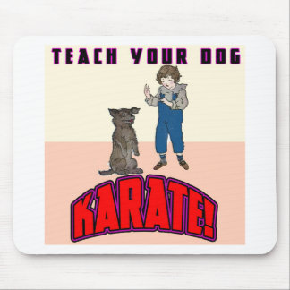 Dog Karate 3 Mouse Mat