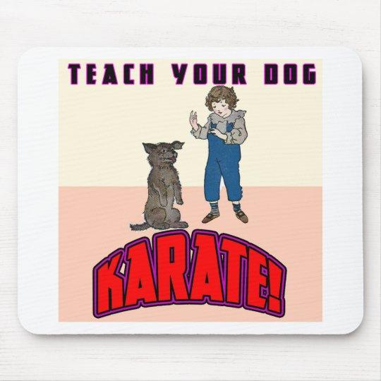 Dog Karate 3 Mouse Mat