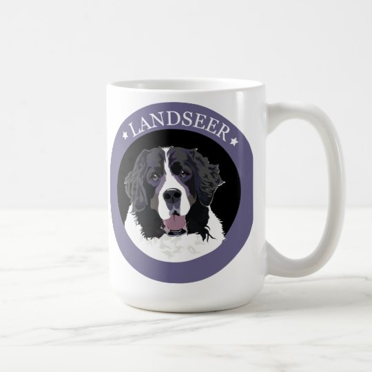 Dog Landseer Coffee Mug