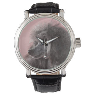 Dog looking away wristwatches
