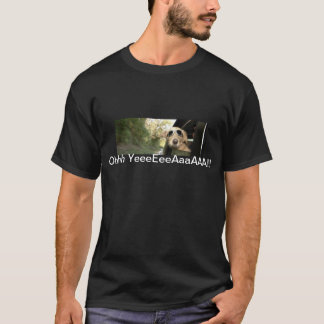 Dog Looking Out of Car Window Into Breeze T-Shirt