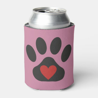 Dog Love Coozie - Can Cooler