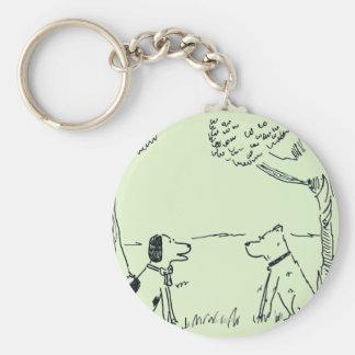 Dog Love Key Ring