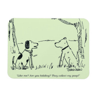 Dog Love Magnet