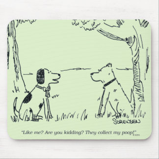 Dog Love Mouse Pad