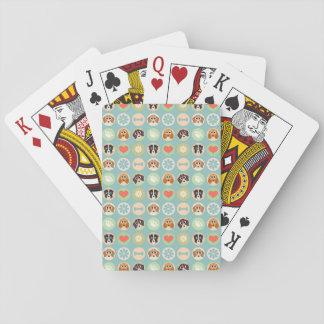Dog Love Poker Cards