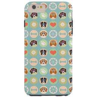 Dog Love Tough iPhone 6 Plus Case
