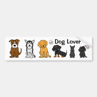 Dog Lover #2 Bumper Sticker