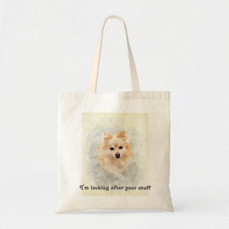 Dog lover bag! Ginger Pomeranian Dog Tote Bag