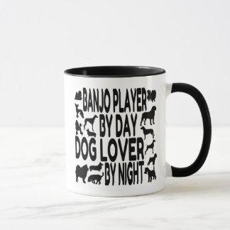 Dog Lover Banjo Player Mug