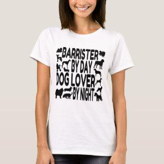 Dog Lover Barrister T-Shirt