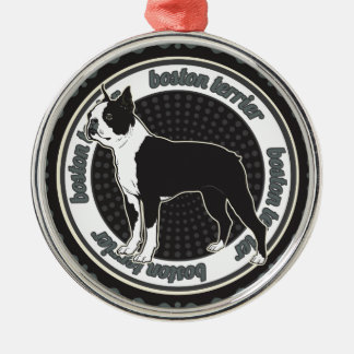 Dog Lover Boston Terrier Dog Christmas Ornament