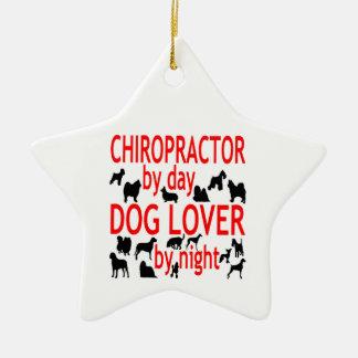 Dog Lover Chiropractor Ceramic Star Decoration