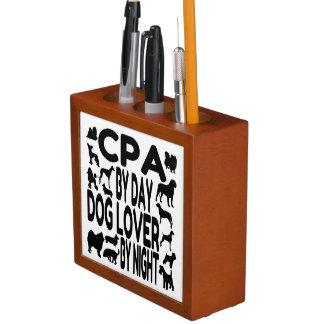 Dog Lover CPA Desk Organiser
