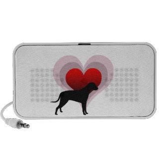 Dog lover - customisable travelling speakers