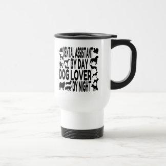 Dog Lover Dental Assistant Stainless Steel Travel Mug