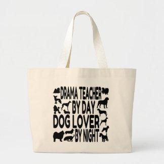 Dog Lover Drama Teacher Large Tote Bag
