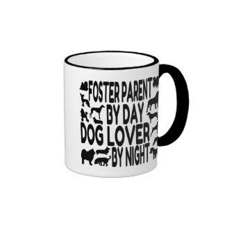 Dog Lover Foster Parent Ringer Mug