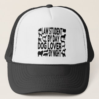 Dog Lover Law Student Cap