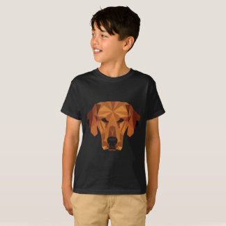 Dog lover - Low Poly - t-shirt